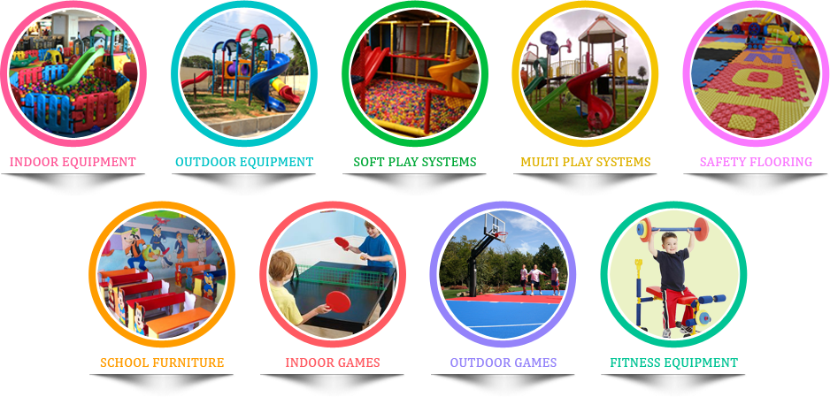 commercial playground equipment  in Bangalore