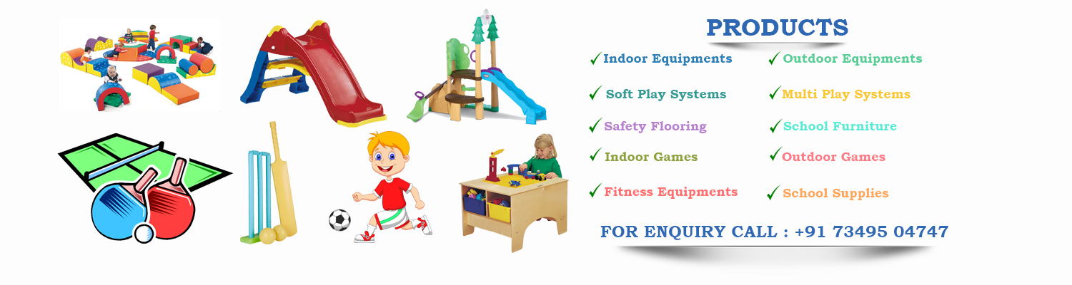 Outdoor Playground Equipment in Bengaluru